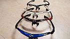 Спортивные очки Oakley 089 POLARIZED с поляризацией и UV400 (5 сменных линз), фото 4