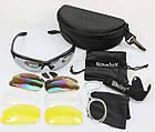Спортивные очки со сменными линзами Daisy C3, фото 4