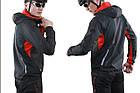 """Зимняя непродуваемая непромокаемая вело-куртка Sobike """"Windstorm"""" (M - 4XL), фото 5"""
