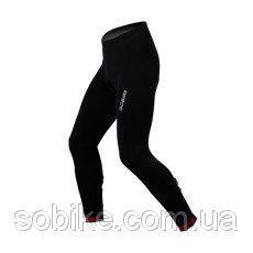 """Зимние утеплённые флисовые вело-штаны Sobike """"Galaxy"""" с памперсом"""