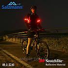 Диодная велосипедная светоотражающая полоска на запястье / фликер, фото 4