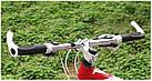 """Эргономичные велосипедные грипсы с алюминиевыми рожками """"фикс"""" (4 расцветки), фото 3"""