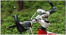 """Эргономичные велосипедные грипсы с алюминиевыми рожками """"фикс"""" (4 расцветки), фото 4"""