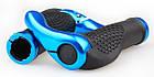 """Эргономичные велосипедные грипсы с алюминиевыми рожками """"фикс"""" (4 расцветки), фото 6"""