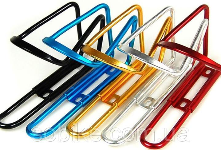 Кріплення для фляги / флягодержатель велосипедний алюмінієвий