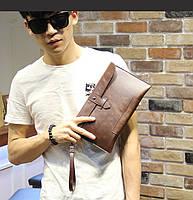 Мужская кожаная сумка. Модель с17, фото 4