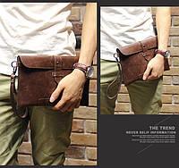 Мужская кожаная сумка. Модель с17, фото 5