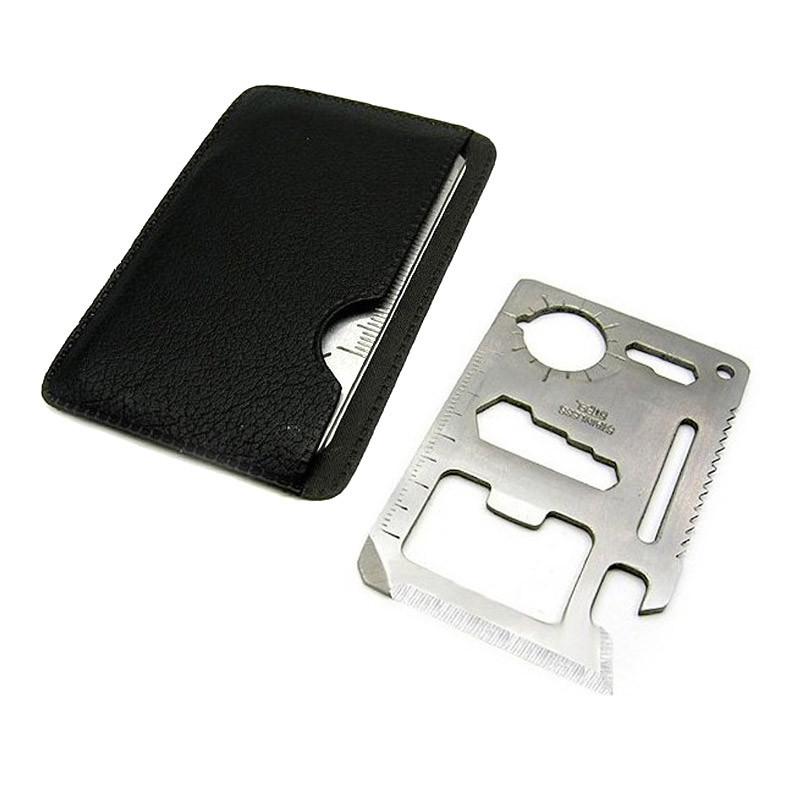 Мультитул кредитна картка / кредитка / візитка, багатофункціональний інструмент 11-в-1