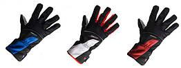 Велосипедные перчатки зимние непродуваемые непромокаемые Robesbon с мембраной Windstopper