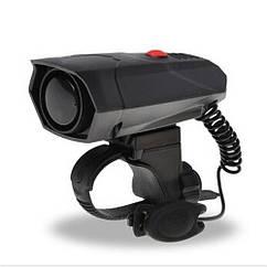 Велосипедный звонок / гудок электрический Deemount - 110 Дб, пять видов сигналов