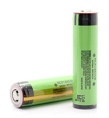 Литиевый аккумулятор 18650 Panasonic NCR18650B 3400 mAh c защитой