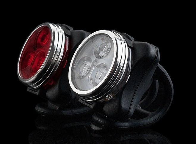 "Мигалка / габарит ZECTO DRIVE HJ-030 ""зекто"" (COB диоды, аккумулятор, зарядка от USB, 80 люмен, алю элементы)"