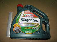 Масло моторное Castrol   Magnatec 5W-30 AР (Канистра 4л), R1-MAG53AP-4X4S