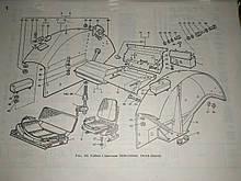 Запчасти кабины трактора, другие Т-40
