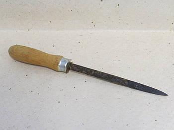 Шабер цілісний односторонній тригранний раб.L-150mm
