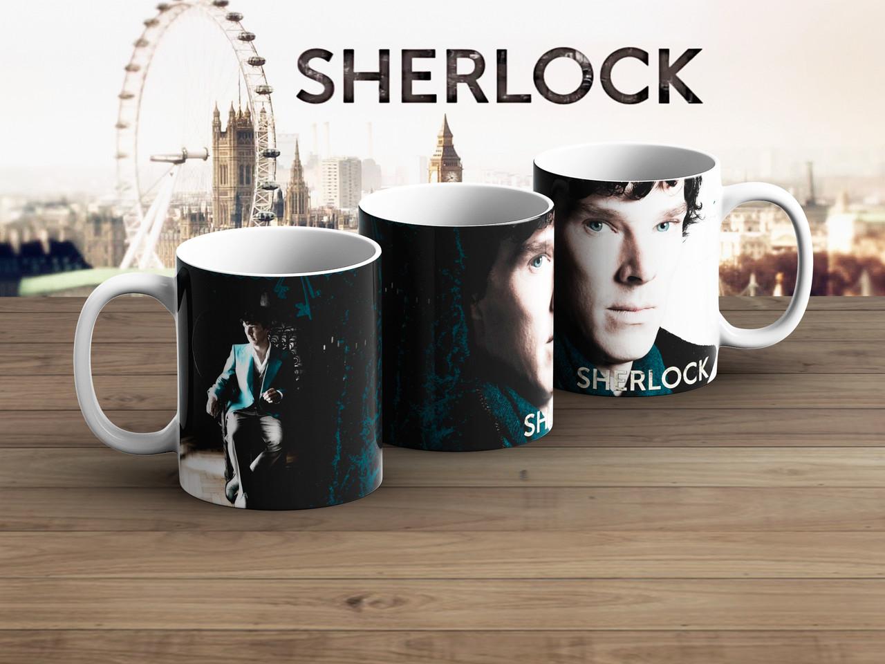 Чашка Шерлок засвечен / Sherlock