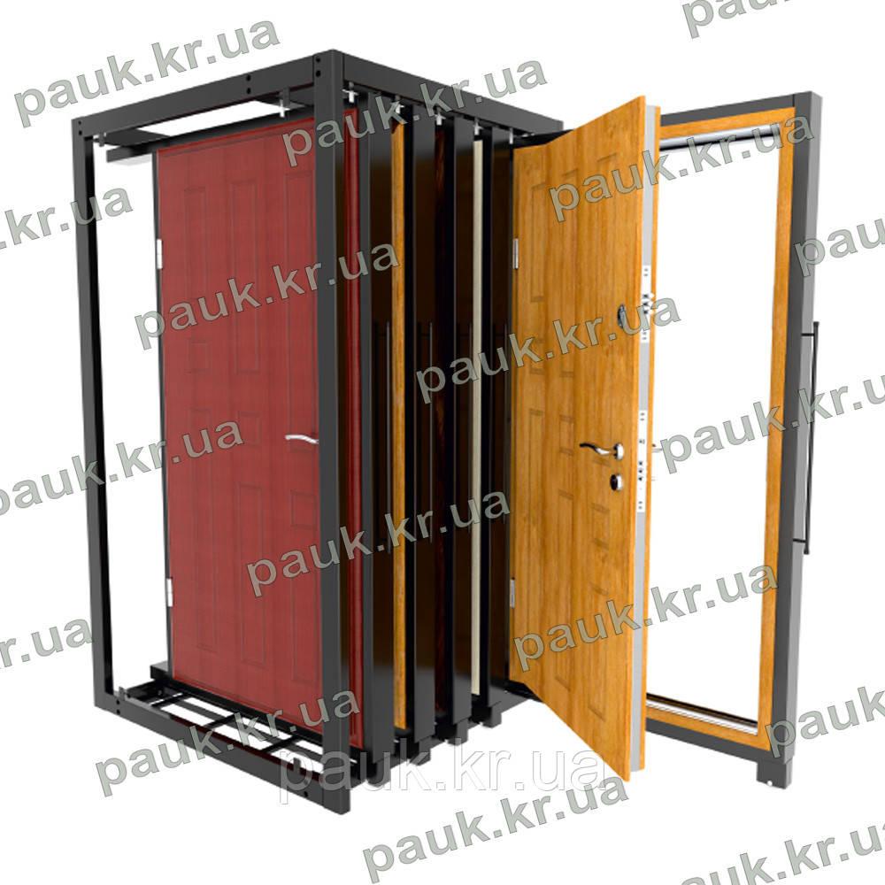 """Експозитор для дверей """"Пенал""""(на 5 дверей), стійка для дверей EE-DR3"""