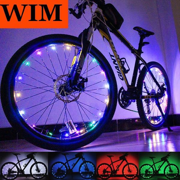 """Диодная автоматическая иллюминация колеса / спиц велосипеда на 20 диодов ТМ """"WIM"""""""
