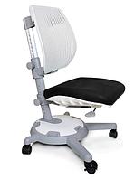 Кресло Mealux Ultraback G (арт.Y-1018 G) спинка белая / обивка черная