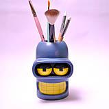 Робот Бендер из Футурамы. Подставка Органайзер из гипса, фото 3