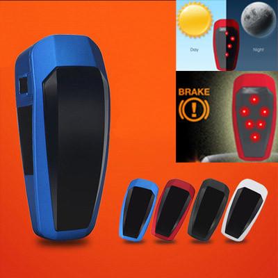 """Вело задній габарит з автоматичною активацією, датчиком освітлення і гальмування ТМ """"WIM"""" (зарядка від USB)"""