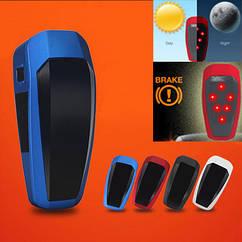 """Вело габарит задний с автоматической активацией, датчиком освещения и торможения ТМ """"WIM"""" (зарядка от USB)"""