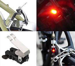 Вело задній габарит з автоматичним стоп-сигналом Nano Brake Light