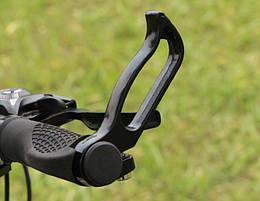 """Эргономичные велосипедные рожки на руль под хват руки """"полые"""""""