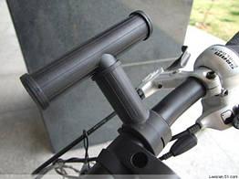 Розширювач / розвантаження / екстендер керма / подседела / вилки / рульової колонки велосипеда пластмасовий