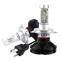 Автомобильные светодиодные лампы Х3  H4