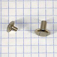 Винт ременной 10*8 мм никель a6266 (50 шт.)