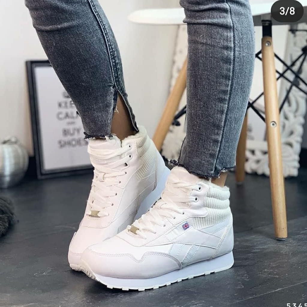Женские зимние кроссовки, копия известного бренда, ОВ 1149