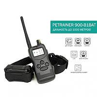 Электроошейник для собаки с током для дрессировки Petrainer 900-B1BAT, дальность до 1 км