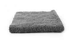 Микрофибровое полотенце - 3D Grey Microfiber Edge-Less 400 гсм. 40x40 см. серый (MF40GRY)