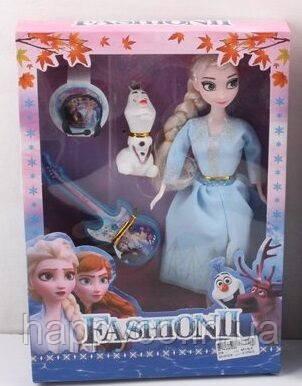 Детская Кукла Эльза  Frozen 2, с аксессуарами