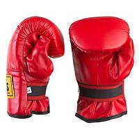 Снарядные перчатки красные BWS DX, M, L, XL, фото 1