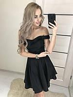 Вечернее платье с открытыми плечами в 2 цветах