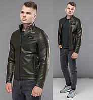 Куртка кожанка кожзам мужская Braggart 36361