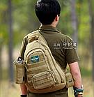 Рюкзак / сумка-слинг тактическая (наплечная) с одной лямкой Protector Plus X204, фото 4