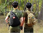 Рюкзак / сумка-слинг тактическая (наплечная) с одной лямкой Protector Plus X204, фото 6