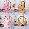 Ушки меховые повязка на уши, детские меховые повязки, наушники меховые, фото 2