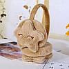 Ушки меховые повязка на уши, детские меховые повязки, наушники меховые, фото 3