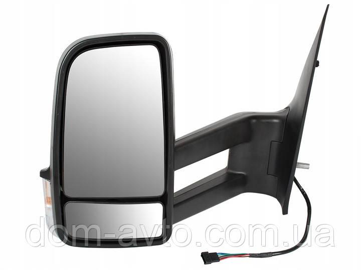 Зеркало в сборе длинное Mercedes Sprinter Crafter