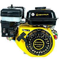 Бензиновый двигатель на мотоблок Кентавр ДВЗ-210БШЛм (7,5 л.с., ручной старт, шлиц Ø20мм, L=35мм)