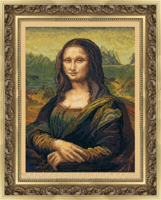 """Набор для вышивки крестиком Чарівна Мить 240 """"Мона Лиза"""""""
