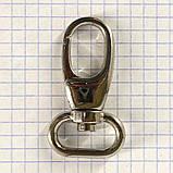 Карабин 20 мм никель для сумок a5930 (2 шт.), фото 2