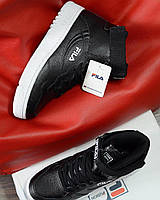 Кросівки Fila FX-100 x Packer Shoes x Larry Johnson Black 36p