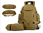 """Рюкзак тактический """"2-в-1"""": рюкзак + поясная сумка Protector Plus S427 (40л), фото 2"""