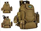 """Рюкзак тактический """"2-в-1"""": рюкзак + поясная сумка Protector Plus S427 (40л), фото 3"""