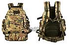 """Рюкзак тактический """"2-в-1"""": рюкзак + поясная сумка Protector Plus S427 (40л), фото 4"""